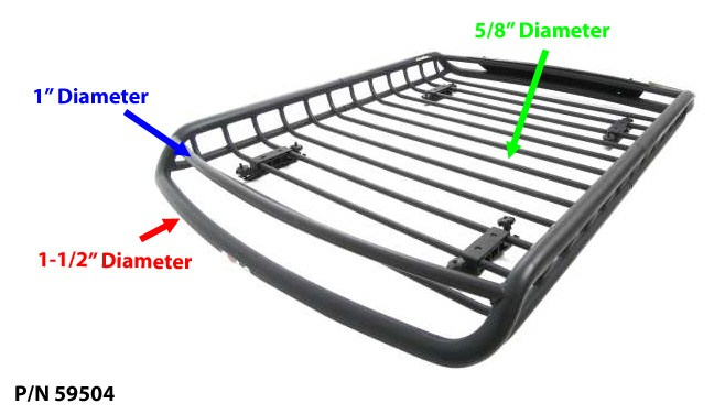 Mounting Off Road Lights On Rola Roof Mounted Cargo Basket