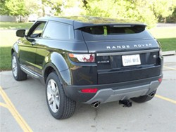 Will a Trailer Hitch on a 2012 Range Rover Evoque Require Trimming
