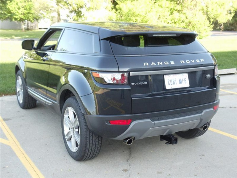 will a trailer hitch on a 2012 range rover evoque require trimming or interfere with camera. Black Bedroom Furniture Sets. Home Design Ideas