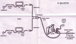 qu48090_250 how to wire the optronics driving light kit qh 87cd etrailer com 7 Pin Trailer Wiring Diagram at soozxer.org