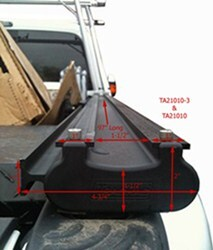 TracRac G2 Bed Rail Dimensions for a 2012 Ford F-250 or F ...