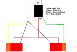 vehicle wiring converter to separate turn signals from brake lights rh etrailer com