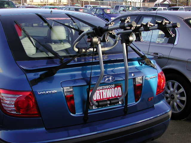 Trunk Mount Bike Rack >> Will the Yakima SuperJoe Pro Trunk mount Bike Rack Fit a 2005 Hyundai Elantra Hatchback ...