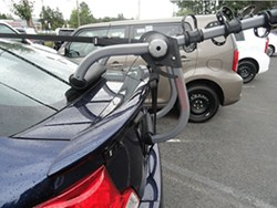 Will The Yakima Hangout 3 Bike Trunk Mounted Rack Fit A