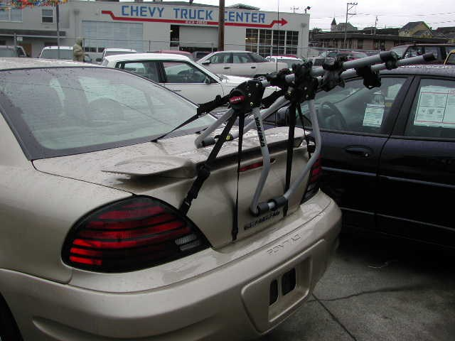 Trunk Mount Bike Rack Recommendation For A 2000 Pontiac