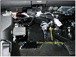 wiring harness battery base installing a brake controller on 2011 chevrolet silverado #3