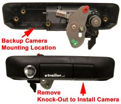 Manual tail gate lock for a 2013 toyota tacoma with rear backup click to enlarge publicscrutiny Choice Image