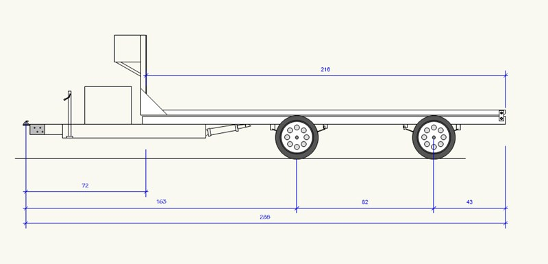 Spread Axle Trailer Weights : Advantages to a spread axle trailer over tandem