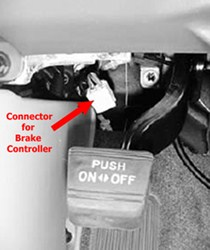 installing brake controller on 2007 toyota tundra without tow rh etrailer com Tow Wiring Harness Install Tow Wiring Kits