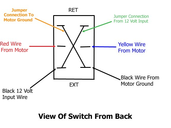 Wiring Diagram Switch Leg : Wiring for replacement switch on atwood landing gear