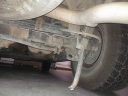Replacement Rear Anti Sway Bar For A 2002 Chevy Tahoe