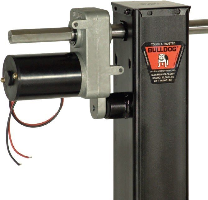 bulldog electric jacks adding an electric motor to bulldog square jack bd182701 333