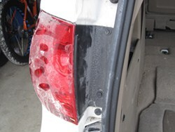 How to Remove Rear Taillights on a 2012 VW Routan to Install