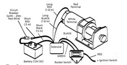 superwinch lt2000 winch wiring and installation on 2010 polaris rh etrailer com wiring diagram for polaris winch polaris warn winch wiring diagram