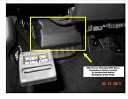 pod trailer brake controller install