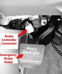 Prodigy Brake Controller >> Brake Controller, Wiring Adapter and Location of Brake