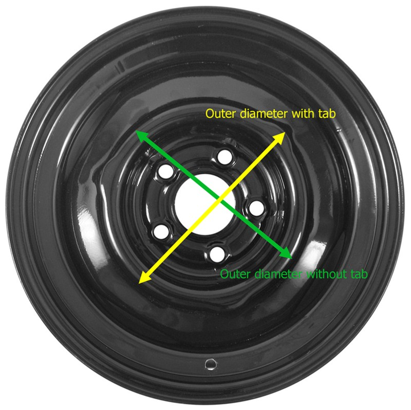 How To Measure A Trailer Wheel To Fit A Baby Moon Center
