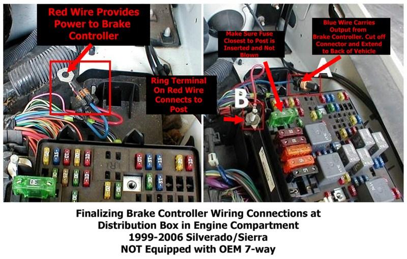 reese trailer brake controller wiring diagram gmc sierra trailer brake controller wiring diagram