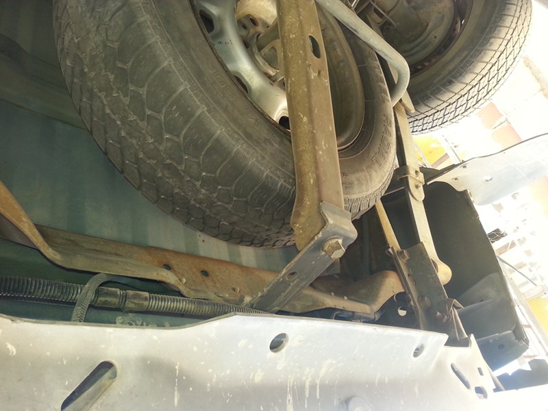 will a trailer hitch fit a 1996 ford ranger with large