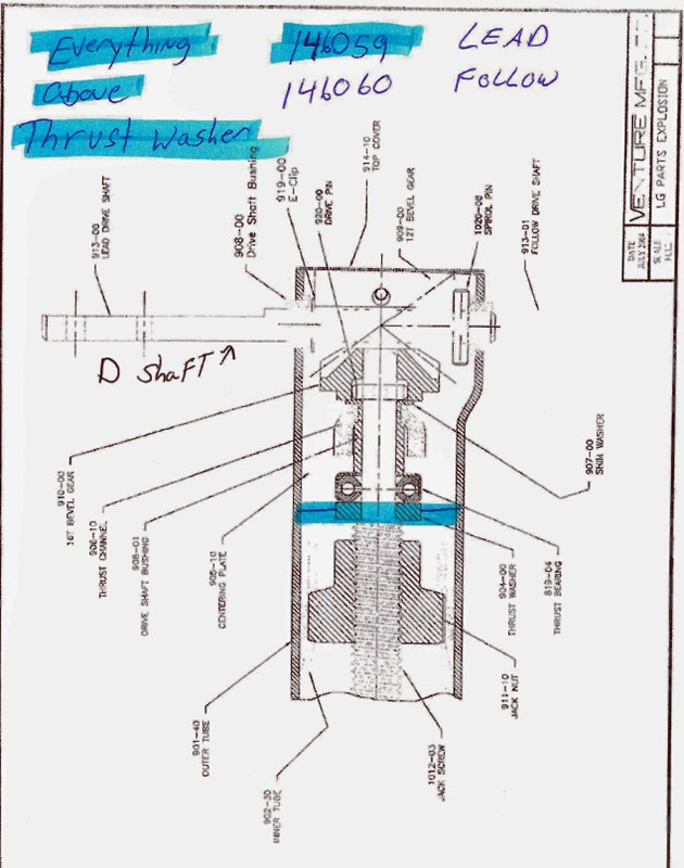 Installation Diagram For The Stromberg Carlson Repair Kit