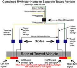 diagram showing how to wire taillight diode kit like a 2 2015 dodge ram trailer wiring