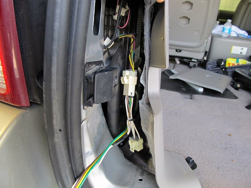 where does curt trailer wiring harness install on a 2005 7-Wire Trailer Wiring Diagram 4 Wire Trailer Wiring Diagram