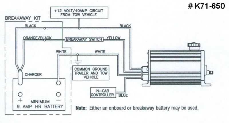 Hydraulic Brakes Diagram : Wiring the breakaway switch to dexter electric over