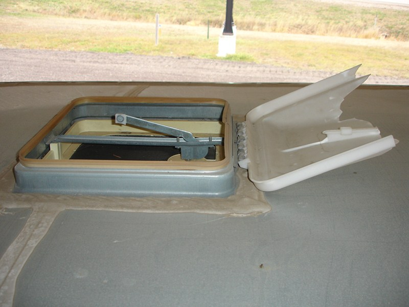 Replacement Vent Lid Cover And Crank Handle For Ventline