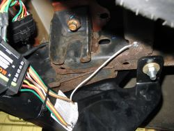 custom wiring harness for s10 where to ground trailer light harness on a 2004 chevy