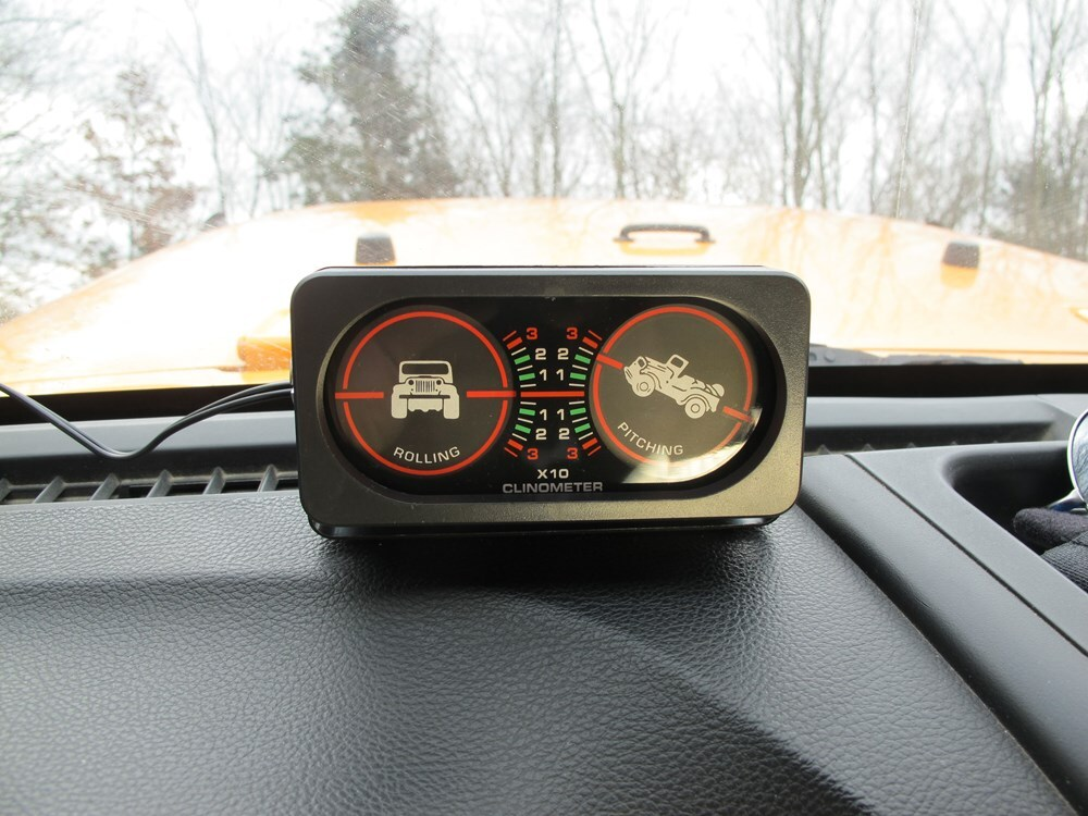 Rampage Lighted Clinometer - Analog Rampage Off Road