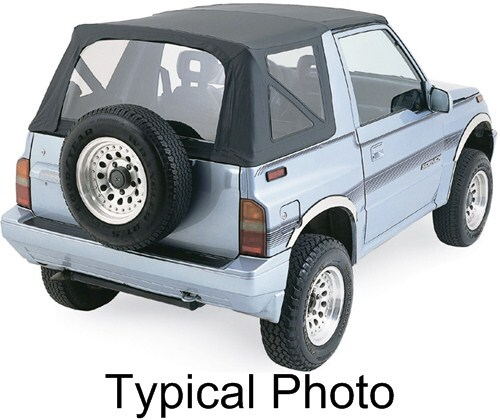 1993 Geo Tracker Rampage Replacement Soft Top Fabric For