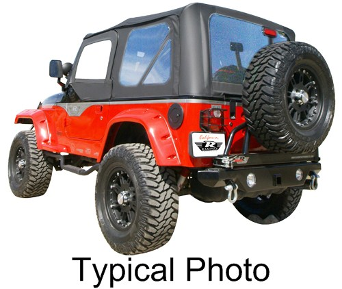1990 Jeep Wrangler Rampage Replacement Soft Top Fabric For