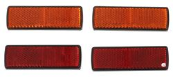 Red and Amber Self-Adhesive Reflector Kit