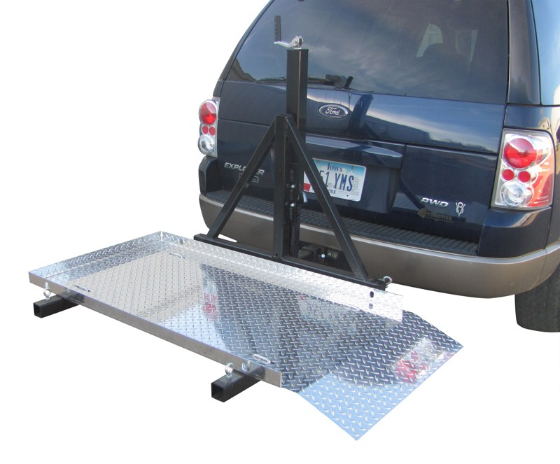 Trailer Hitch Mounted Scooter Wheelchair Carrier For 2
