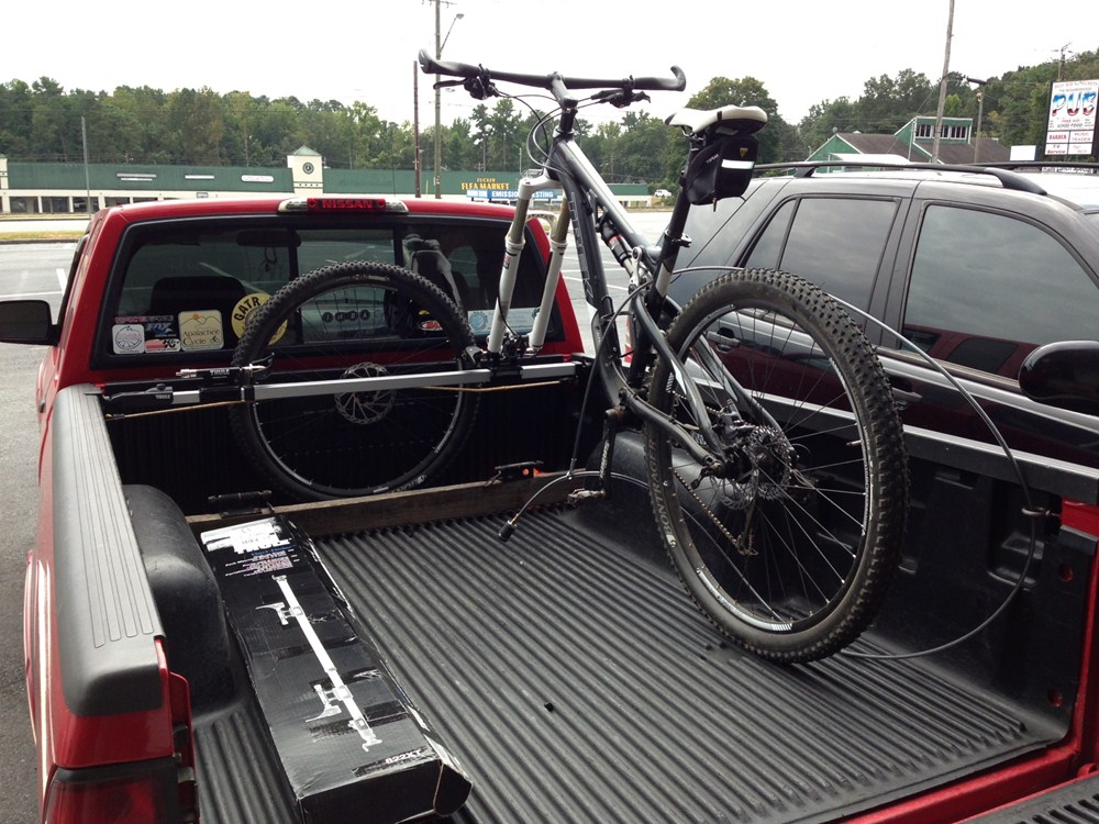 Thule Bed Rider 2 Bike Rack For Truck Beds Fork Mount