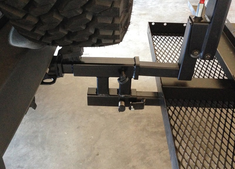 Maxxtow Dual Hitch Extender For 2 Quot Trailer Hitches 12