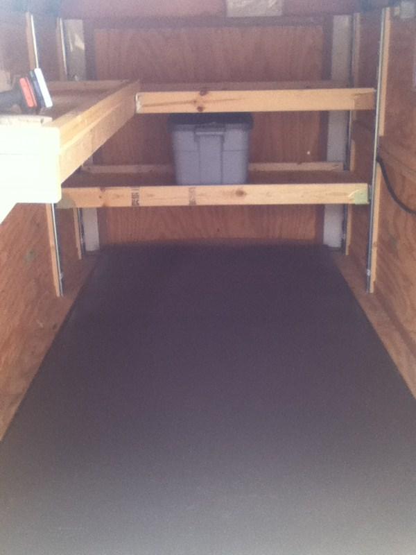 "Enclosed Trailer Shelving >> E-Track Wood Beam Socket for Standard 2"" Lumber - Qty 1 ..."