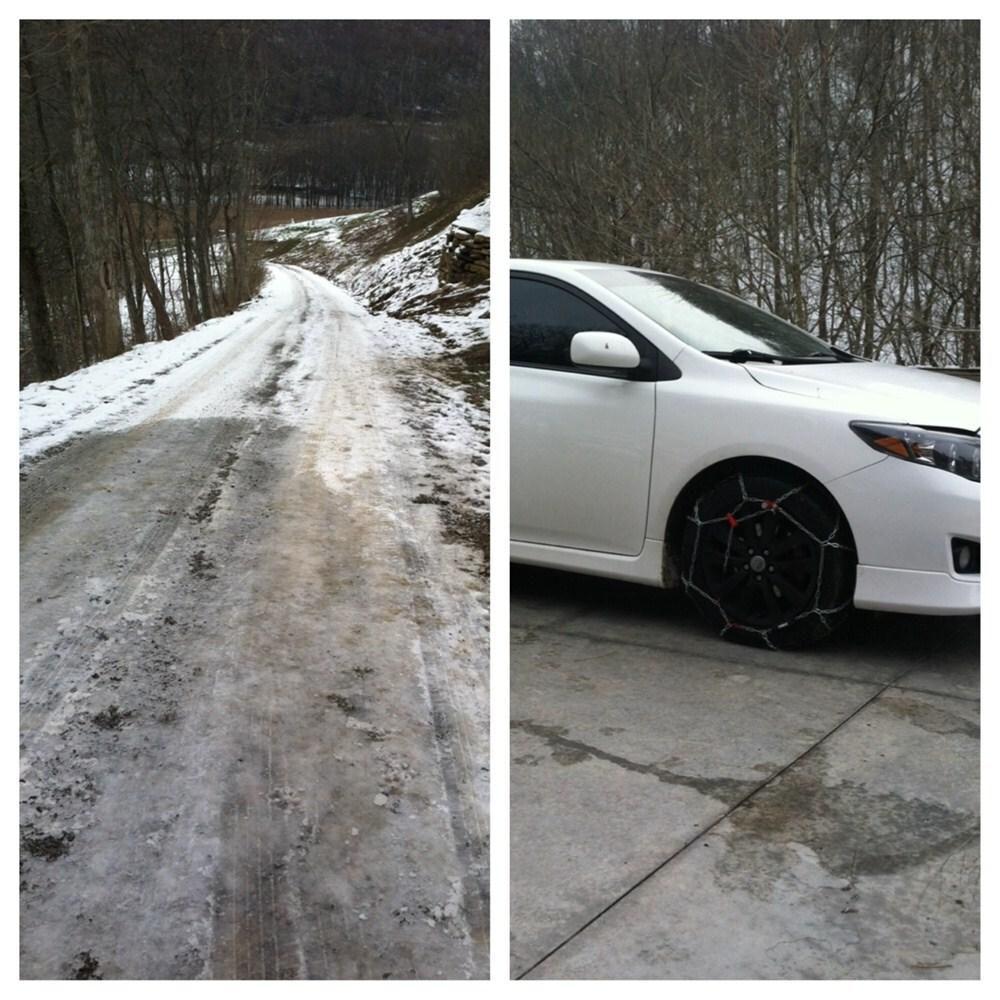 Konig Standard Snow Tire Chains - Diamond Pattern - D Link