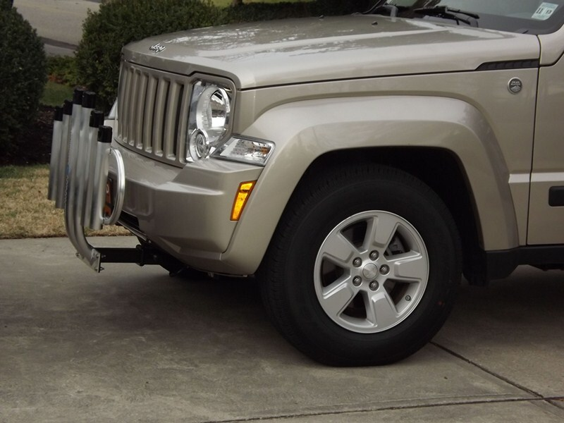 2012 jeep liberty curt front mount trailer hitch receiver. Black Bedroom Furniture Sets. Home Design Ideas