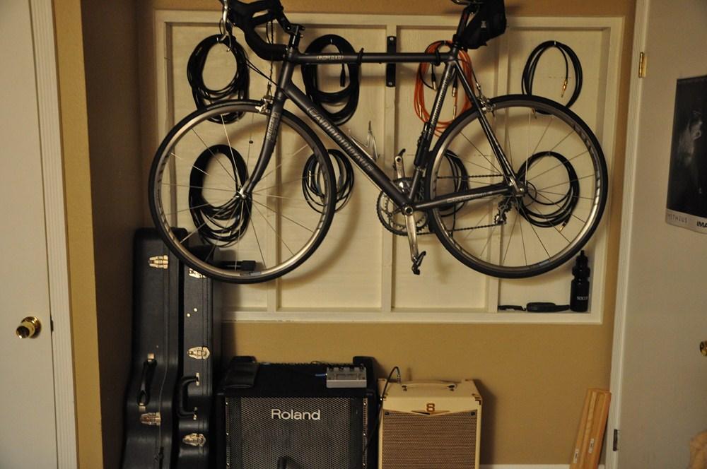 Wall Mounted Fold Down Bike Hanger Swagman Fold It