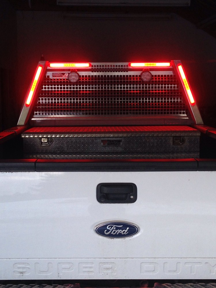 Glolight Thinline Led Stop Turn Tail Trailer Light 17