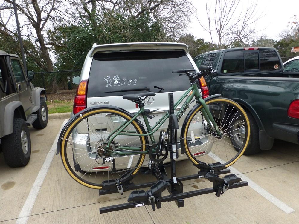 Thule Doubletrack Platform-Style 2 Bike Rack for 1-1/4 ...