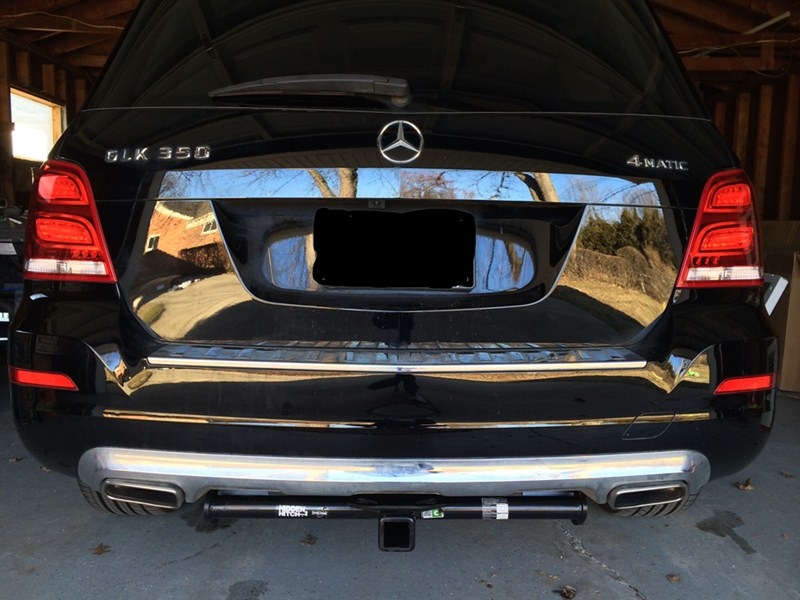 2010 Mercedes Benz Glk Class Trailer Hitch Draw Tite