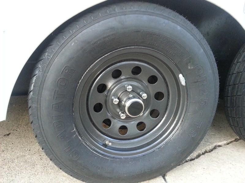 Trailer Hub Caps 12 : Americana trailer wheel center cap stainless steel