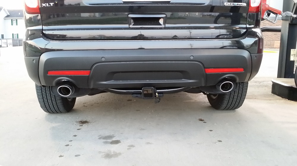 """Ford Explorer Parts >> 2017 Ford Explorer Curt Trailer Hitch Receiver - Custom Fit - Class III - 2"""""""