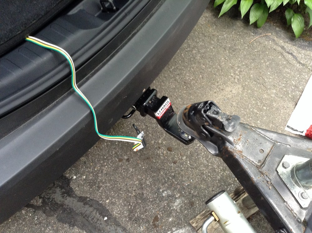 2013 Toyota Rav4 Tone Vehicle Wiring Harness With 4pole Flat Trailer