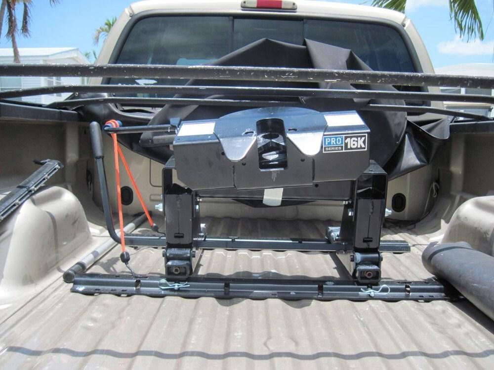 5th Wheel Slider Hitch >> Pro Series 5th Wheel Trailer Hitch w/ Slider - Dual Jaw ...