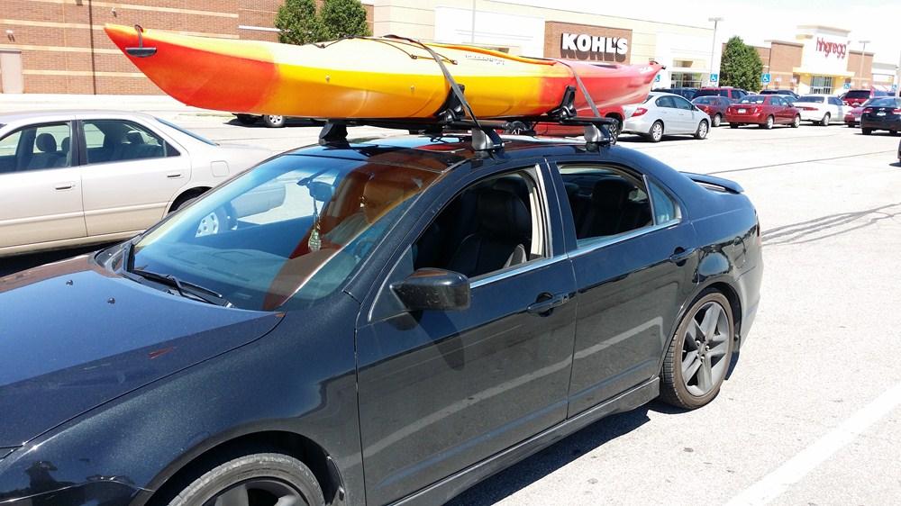 Chevrolet Equinox Rhino Rack Nautic Roof Kayak Carrier W