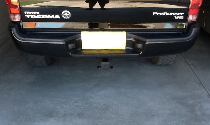 2005 toyota tacoma trailer hitch