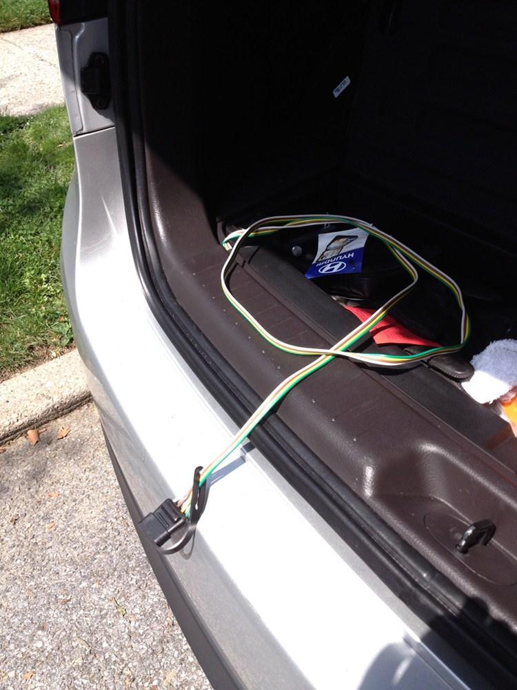 2009 Hyundai Santa Fe Trailer Wiring Harness : Hyundai santa fe custom fit vehicle wiring curt